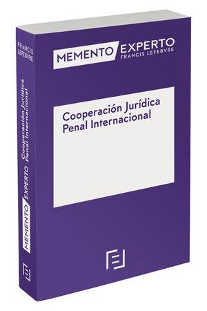 MEMENTO EXPERTO COOPERACIÓN JURÍDICA PENAL INTERNACIONAL