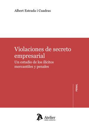 VIOLACIONES DE SECRETO EMPRESARIAL.