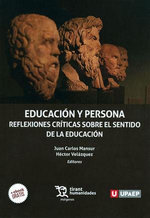 EDUCACIÓN Y PERSONA