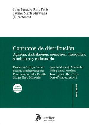CONTRATO DE DISTRIBUCIÓN (INCLUYE MODELOS DE CONTRATOS)