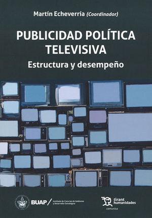 PUBLICIDAD POLÍTICA TELEVISIVA