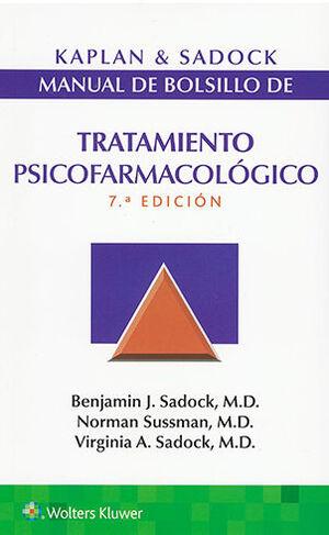 MANUAL DE BOLSILLO TRATAMIENTO PSICOFARMACOLÓGICO 7ª ED.