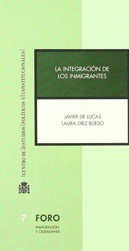 INTEGRACIÓN DE LOS INMIGRANTES, LA