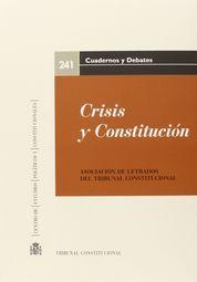 CRISIS Y CONSTITUCIÓN
