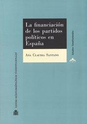 FINANCIACIÓN DE LOS PARTIDOS POLÍTICOS EN ESPAÑA,LA