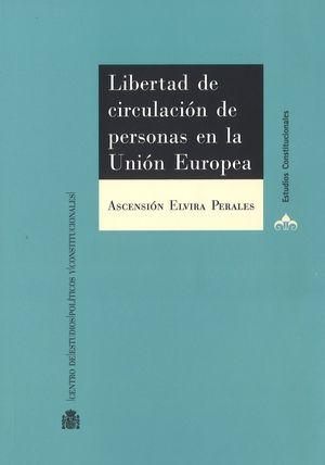 LIBERTAD DE CIRCULACIÓN DE PERSONAS EN LA UNIÓN EUROPEA. LÍMITES POR RAZÓN DE OR