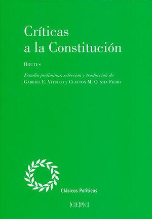 CRÍTICAS A LA CONSTITUCIÓN