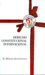 DERECHO CONSTITUCIONAL INTERNACIONAL, EL