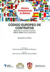 CÓDIGO EUROPEO DE CONTRATOS
