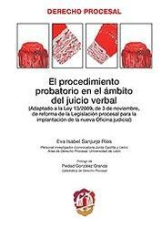 PROCEDIMIENTO PROBATORIO EN EL ÁMBITO DEL JUICIO VERBAL, EL