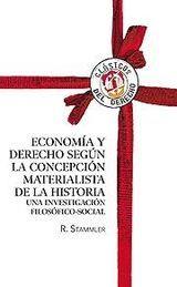 ECONOMÍA Y DERECHO SEGÚN LA CONCEPCIÓN MATERIALISTA DE LA HISTORIA. UNA INVESTIGACION