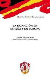 DONACIÓN EN ESPAÑA Y EN EUROPA, LA