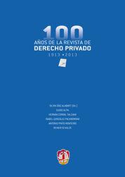 100 AÑOS DE LA REVISTA DE DERECHO PRIVADO