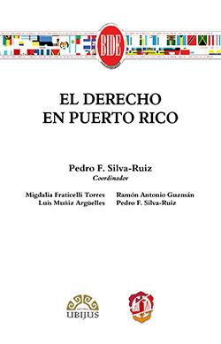 DERECHO EN PUERTO RICO, EL
