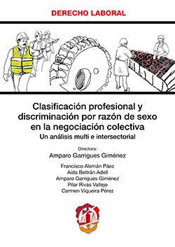 CLASIFICACIÓN PROFESIONAL Y DISCRIMINACIÓN POR RAZÓN DE SEXO EN LA NEGOCIACIÓN C