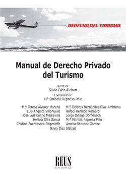 MANUAL DE DERECHO PRIVADO DEL TURISMO