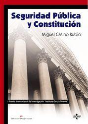 SEGURIDAD PÚBLICA Y CONSTITUCIÓN
