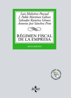 RÉGIMEN FISCAL DE LA EMPRESA - 6.ª ED. 2021