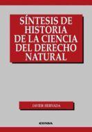 SÍNTESIS DE HISTORIA DE LA CIENCIA DEL DERECHO NATURAL