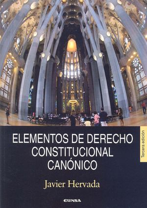 ELEMENTOS DE DERECHO CONSTITUCIONAL CANÓNICO