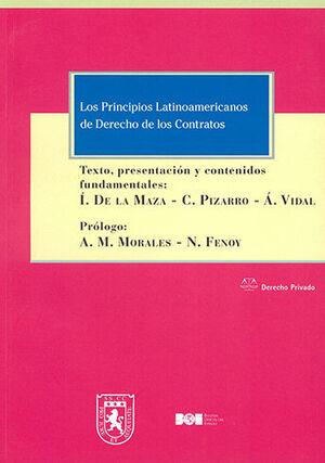 PRINCIPIOS LATINOAMERICANOS DE DERECHO DE LOS CONTRATOS, LOS