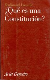 QUE ES UNA CONSTITUCION ARIEL