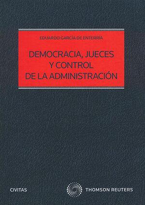 DEMOCRACIA JUECES Y CONTROL DE LA ADMINISTRACIÓN