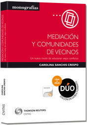 MEDIACIÓN Y COMUNIDADES DE VECINOS (PAPEL + E-BOOK)