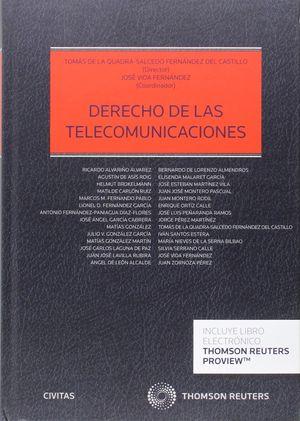 DERECHO DE LAS TELECOMUNICACIONES (PAPEL+EBOOK)