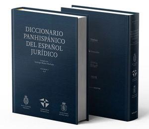 DICCIONARIO PANHISPANICO DEL ESPAÑOL JURIDICO. RAE. DOS TOMOS