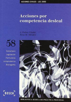 ACCIONES POR COMPETENCIA DESLEAL - LEC 2000