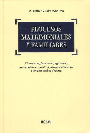 PROCESOS MATRIMONIALES Y FAMILIARES