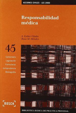 RESPONSABILIDAD MÉDICA - LEC 2000