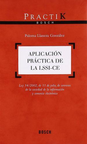 APLICACIÓN PRÁCTICA DE LA LSSI-CE