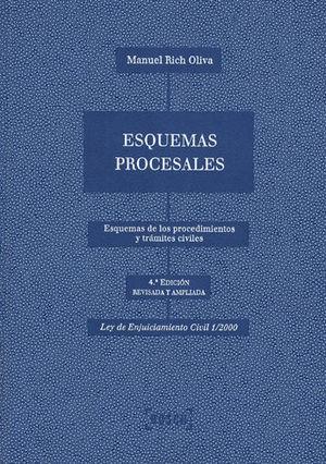 ESQUEMAS PROCESALES (4.ª EDICIÓN)