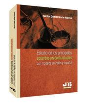 ESTUDIO DE LOS PRINCIPALES ACUERDOS PRECONTRACTUALES CON MODELOS EN INGLÉS Y ESP