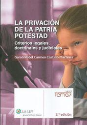 PRIVACIÓN DE LA PATRIA POTESTAD, LA