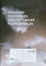 ESQUEMAS PROCESALES CIVILES, PENALES Y CONCURSALES.