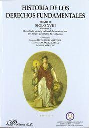 HISTORIA DE LOS DERECHOS FUNDAMENTALES TOMO II EN 3 LIBROS SIGLO XVIII