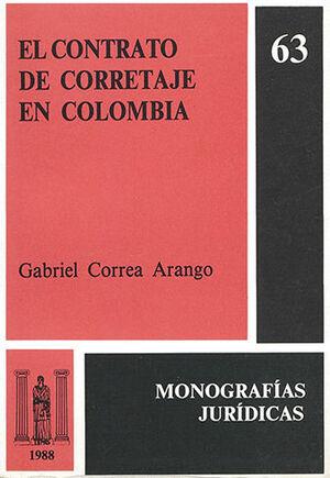 CONTRATO DE CORRETAJE EN COLOMBIA, EL