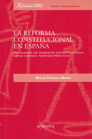 REFORMA CONSTITUCIONAL EN ESPAÑA, LA