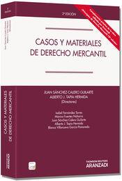 CASOS Y MATERIALES DE DERECHO MERCANTIL (PAPEL + E-BOOK)