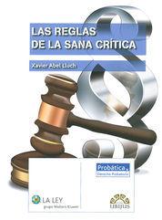 REGLAS DE LA SANA CRÍTICA, LAS