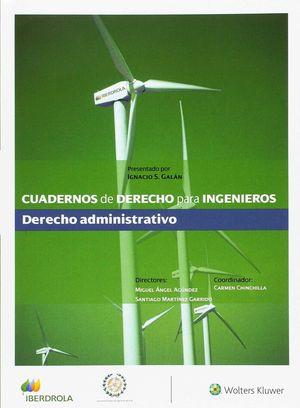 CUADERNO DE DERECHO PARA INGENIEROS, 38. DERECHO ADMINISTRATIVO