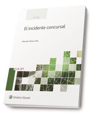 INCIDENTE CONCURSAL, EL