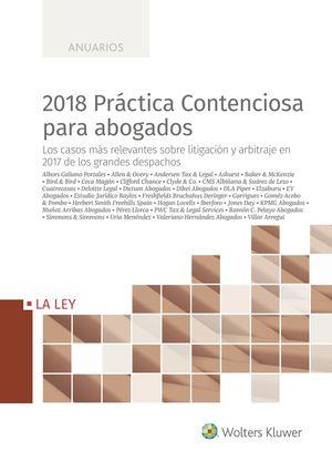 2018 PRÁCTICA CONTENCIOSA PARA ABOGADOS