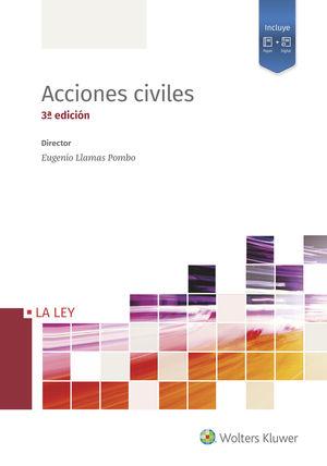 ACCIONES CIVILES (TERCERA EDICIÓN) (4 TOMOS)