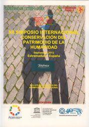 XII SIMPOSIO INTERNACIONAL CONSERVACIÓN DEL PATRIMONIO DE LA HUMANIDAD
