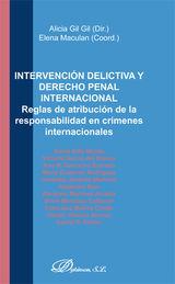 INTERVENCIÓN DELICTIVA Y DERECHO PENAL INTERNACIONAL