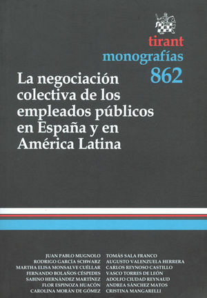 NEGOCIACIÓN COLECTIVA DE LOS EMPLEADOS PÚBLICOS EN ESPAÑA Y EN AMÉRICA LATINA LA